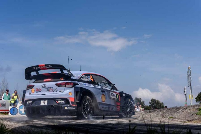 wrc 2017 thierry neuville claims his maiden win of season at tour de corse. Black Bedroom Furniture Sets. Home Design Ideas