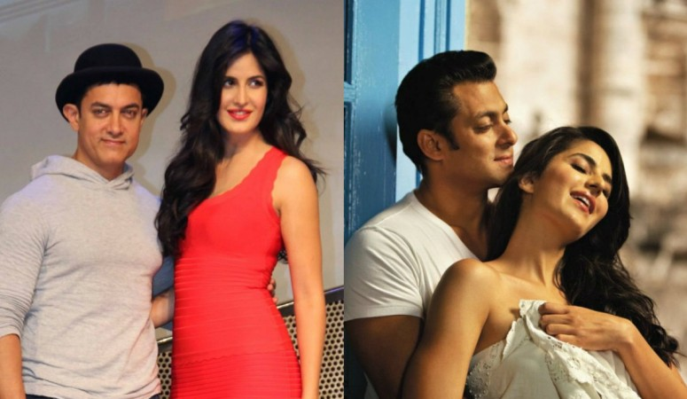 Aamir Khan, Katrina Kaif, Salman Khan