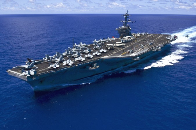 North Korea threatens to sink U.S. aircraft carrier
