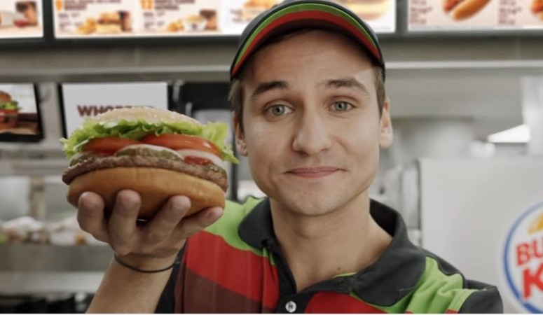 Burger King Whopper ad