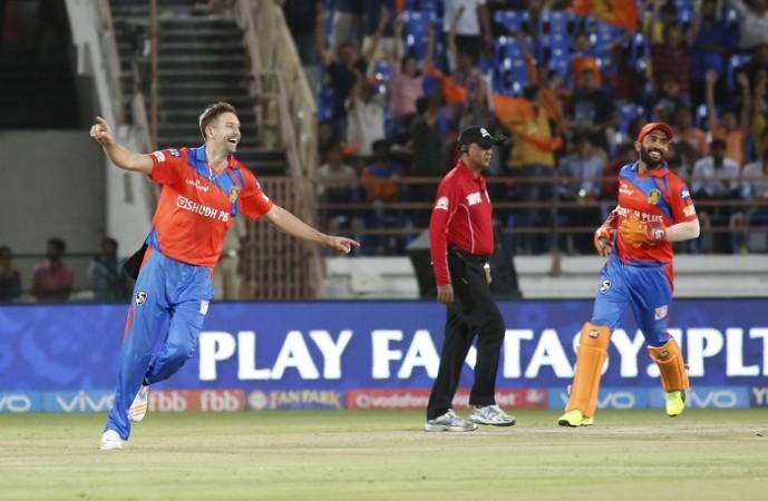 Andrew Tye, IPL 2017, RIsing Pune Supergiant, Andrew Tye hat-trick