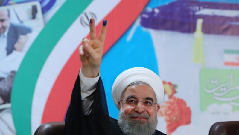 Iran's Rouhani sweeps to second term