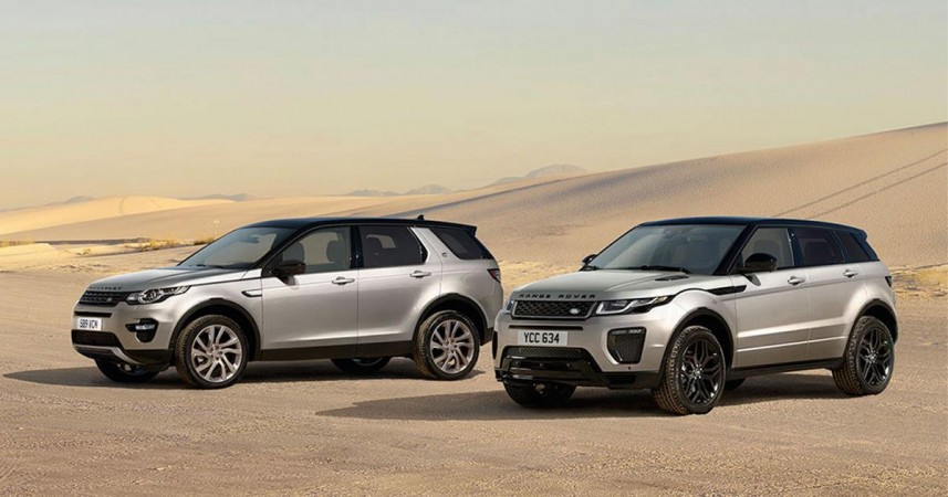 Land Rover Discovery Sport and Range Rover Evoque