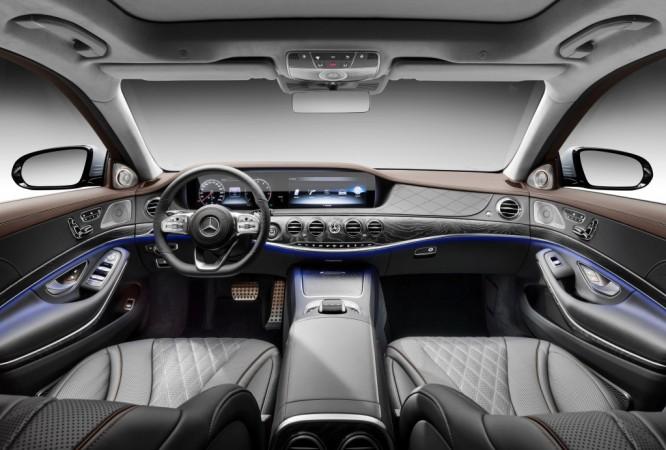 2018 Mercedes S-Class interior