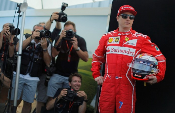 formula one news ferrari diver kimi raikkonen looking to improve after disappointing start to. Black Bedroom Furniture Sets. Home Design Ideas