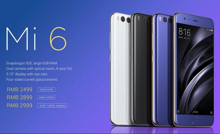 Xiaomi Mi 6 Plus, 3C certifications, price, specifications