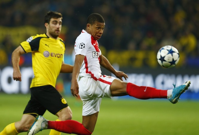 Mbappe helps fire Monaco to Champions League semis