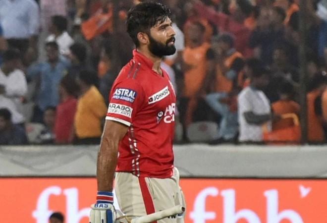 Manan Vohra, Kings XI Punjab, SRH, Mumbai Indians, IPL 2017