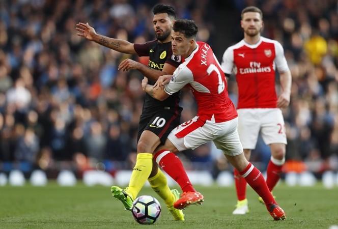 Sergio Aguero, Manchester City, Granit Xhaka, Arsenal, FA Cup