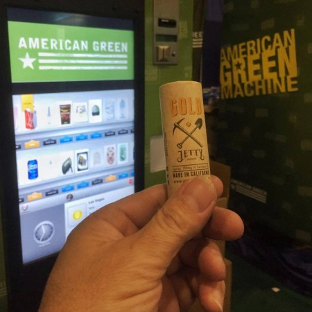 American Green Machine to dispense weed