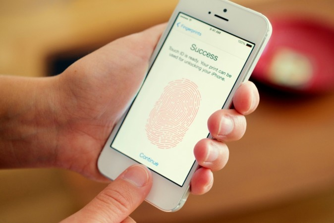 Unlocking phone via fingerprint scanner