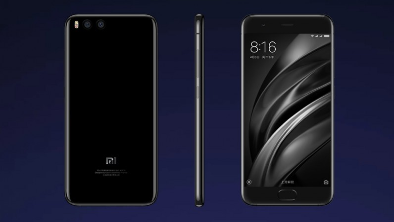 Xiaomi Mi 6 handset as seen on the company's website
