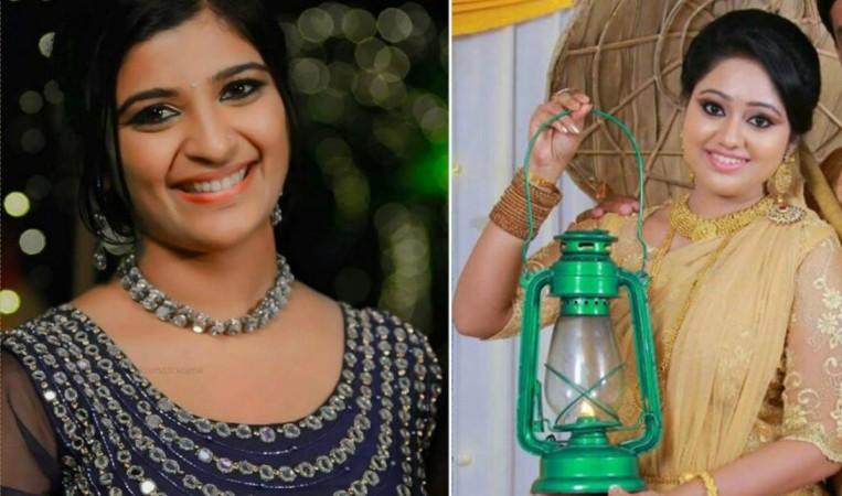 Shalu Kurian, Meghna Vincent, Chandanamazha actresses
