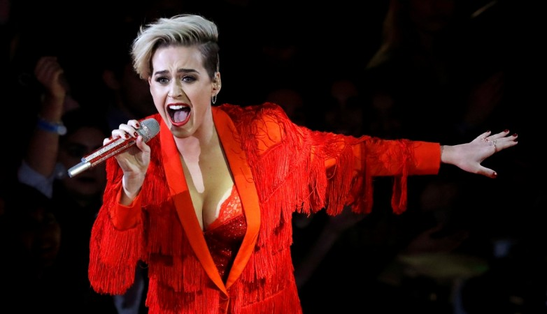 Katy Perry Transforms Into Guy Fieri, Declares 'Never Getting Laid Day'