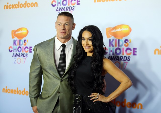Nikki Bella and John Cena Dancing Naked Video