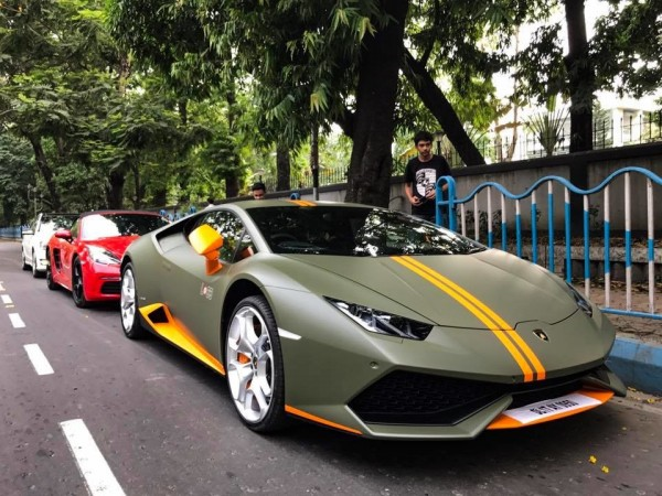 india 39 s premier lamborghini huracan avio finds home in kolkata. Black Bedroom Furniture Sets. Home Design Ideas