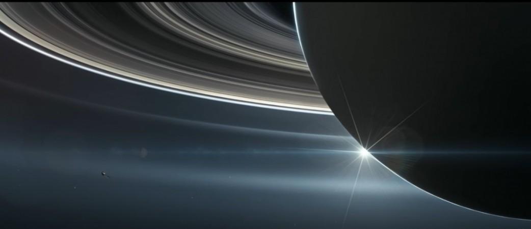 NASA's Cassini discovers 'The Big Empty' between Saturn ...