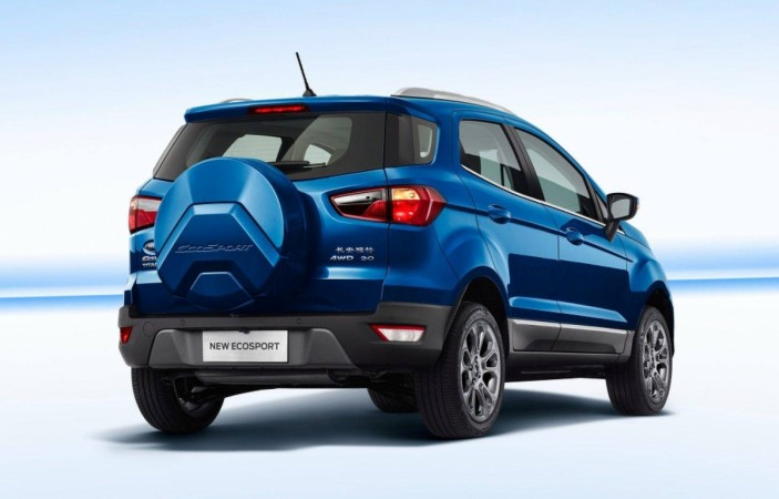 2017 ford ecosport spied testing what to expect ibtimes india. Black Bedroom Furniture Sets. Home Design Ideas