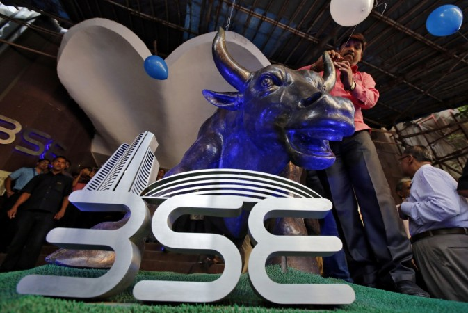 Markets stabilise after choppy opening, Sensex up 100 points