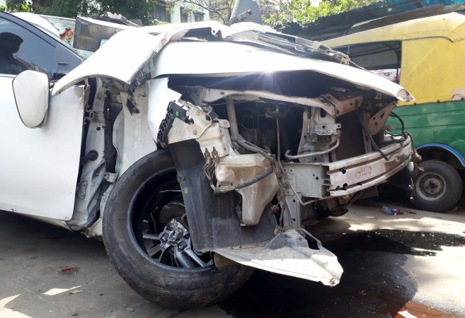 Andhra minister's son dies in Hyderabad road accident