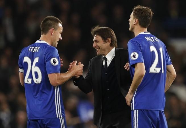John Terry Antonio Conte Nemanja Matic Chelsea EPL