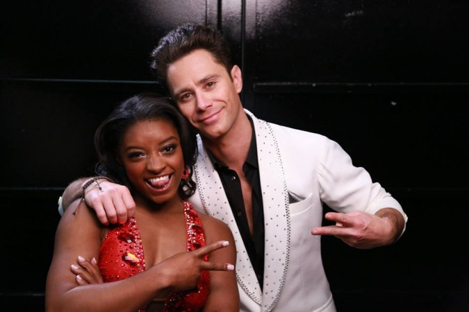 Simone Biles on 'Dancing': Smiling doesn't win gold medals