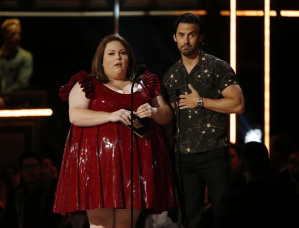 Chrissy Metz fires back at critics of MTV Awards outfit