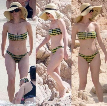 Katy Perry Hits the Beach and Shows Off Bikini Bod