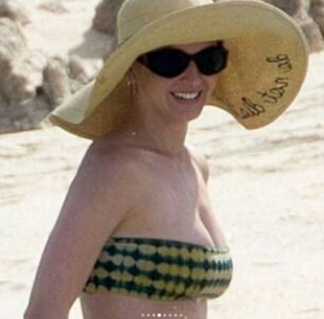 Katy Perry Hits the Beach and Shows Off Bikini Bod