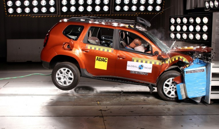 made in india renault duster non airbag version scores zero stars in global ncap crash test. Black Bedroom Furniture Sets. Home Design Ideas