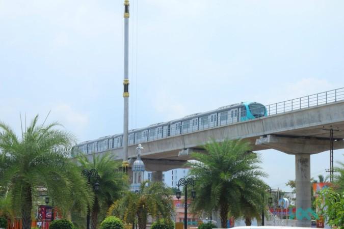 Kochi metro, Kochi metro interiors