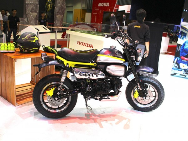 honda monkey 125 concept is as funky as its name ibtimes india. Black Bedroom Furniture Sets. Home Design Ideas