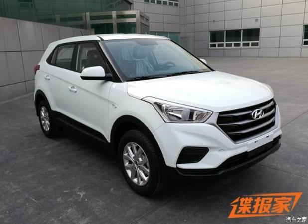 Creta 2017 White >> India-bound 2018 Hyundai Creta spotted in China; likely to ...