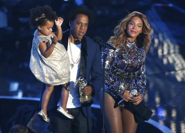 Beyonce's twins Sir and Rumi seen for the first time in public