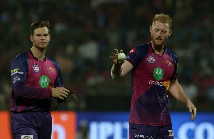 Steve Smith Ben Stokes RPS IPL 2017 playoffs