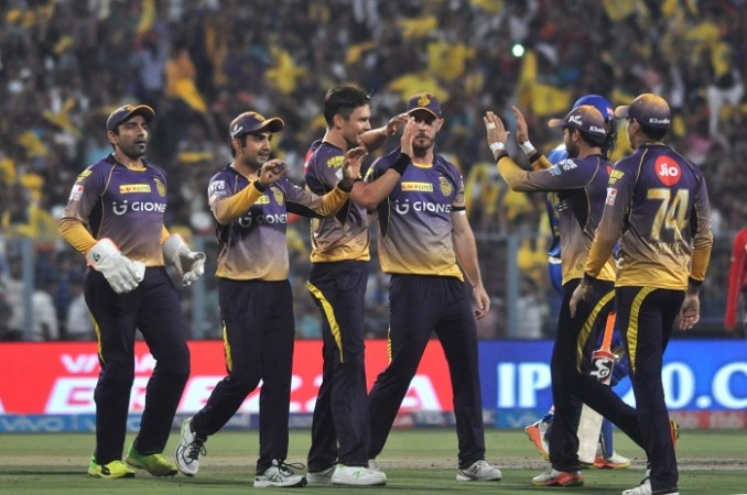 Gambhir-led KKR win rain-interrupted IPL eliminator by 7 wickets