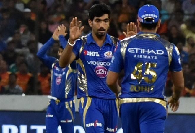 Jasprit Bumrah, Rohit Sharma, Mumbai Indians, IPL 2017 playoffs, RPS