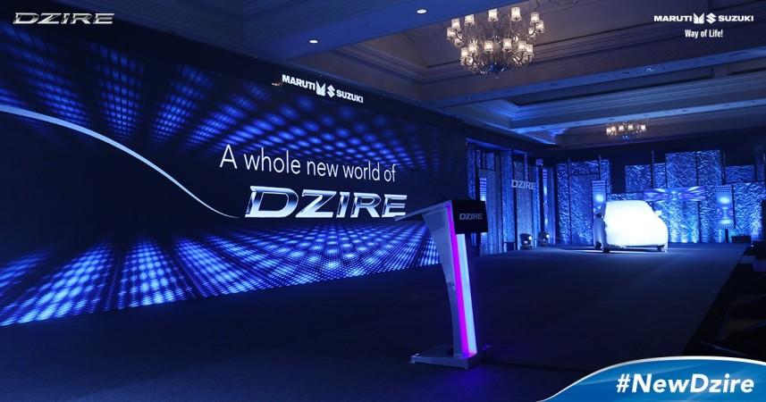 New Dzire, 2017 Maruti Suzuki Dzire