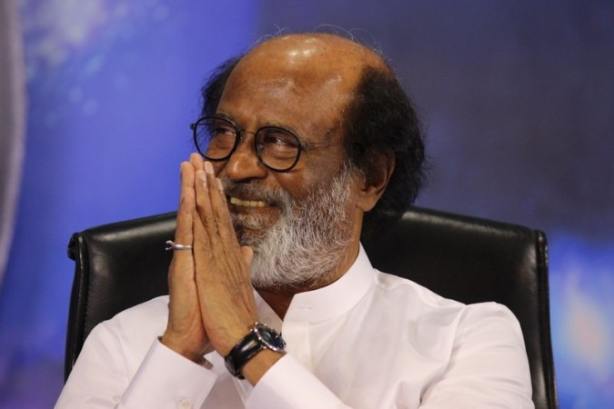 A hardcore Hinduvtva leader meets Rajinikanth