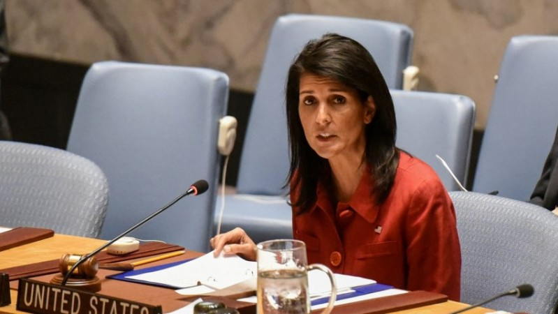 Nikki Haley vows to call out states backing North Korea and slap sanctions on them