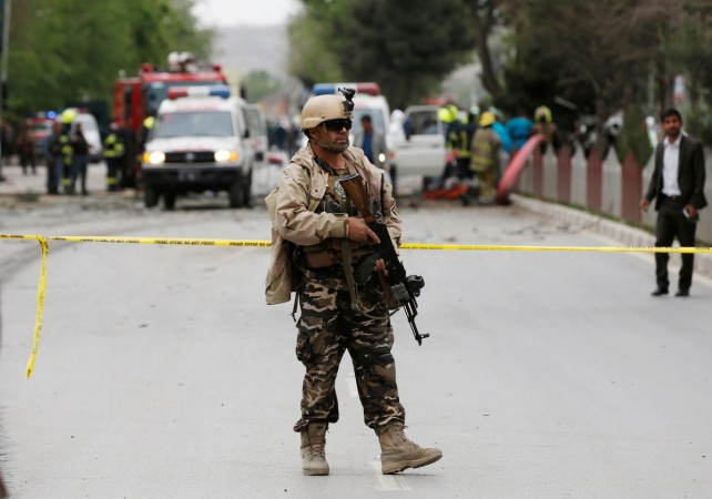 Afghan soldiers killed in Taliban attack at military base