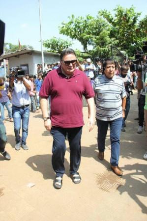 Rishi Kapoor at Reema Lagoo funeral