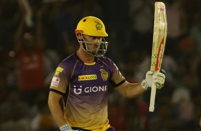 Chris Lynn, KKR, IPL 2017, Mumbai Indians, Qualifier 2