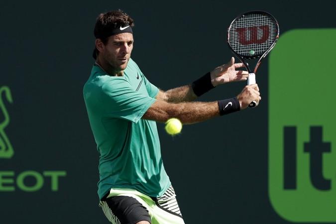 Juan Del Potro , Novak Djokovic, Rome Masters