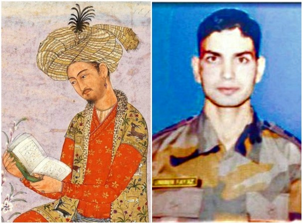 Babur and Lt Ummer Fayaz