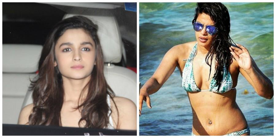 Alia Bhatt and Priyanka Chopra
