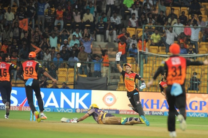 Chinnaswamy pitch, SRH, KKR, IPL 2017, playoffs