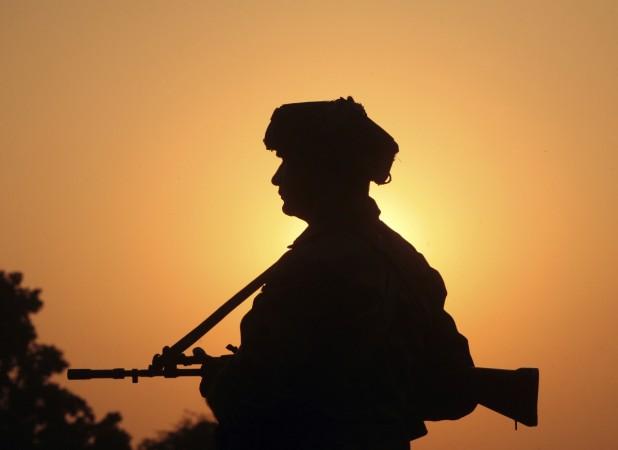 Indian Army keeping vigil at border