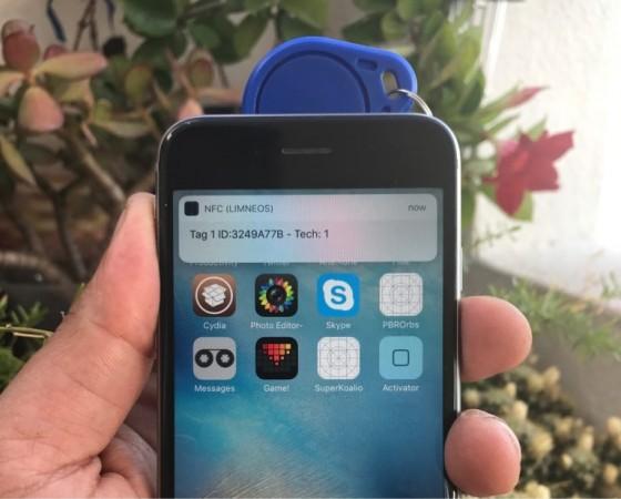 Limneos NFC hack