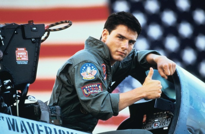 Tom Cruise ready for take off in 'Top Gun 2'
